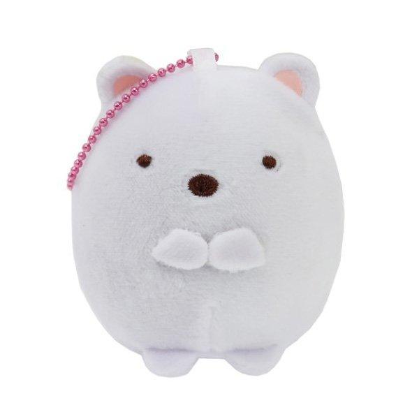 Sumikko Gurashi shirokuma bear squishy keychain