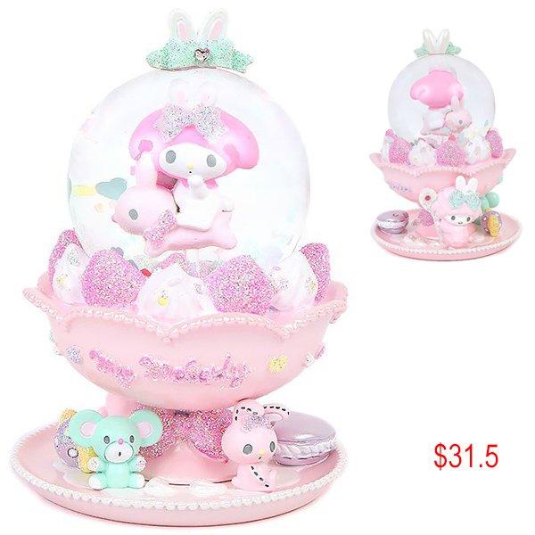 My Melody snow globe