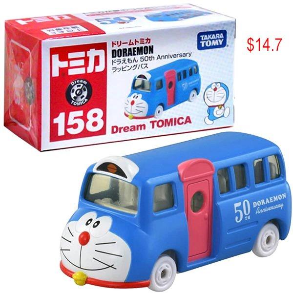 Doraemon 50th anniversary tomica car