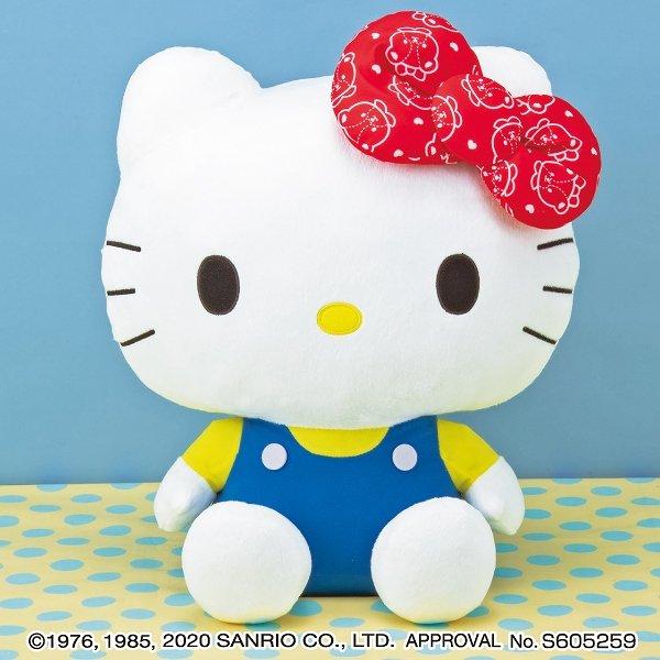 Big Hello Kitty soft toy (ribbon)