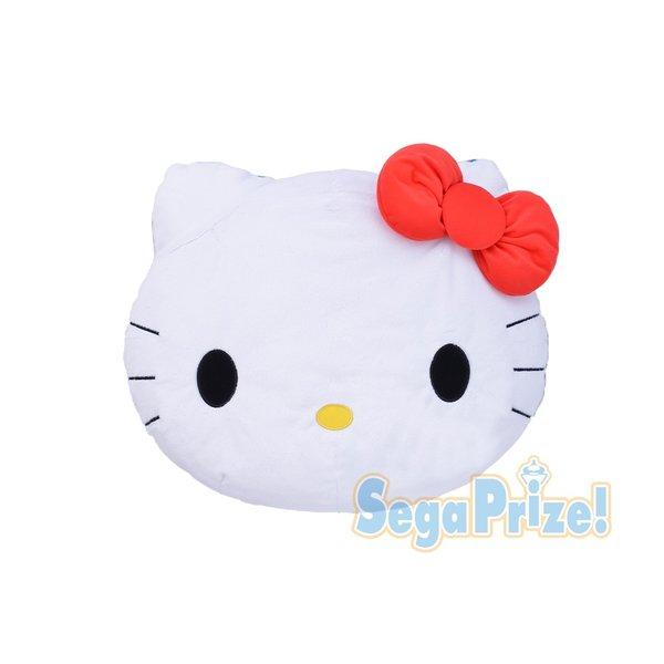 Hello Kitty head cushion