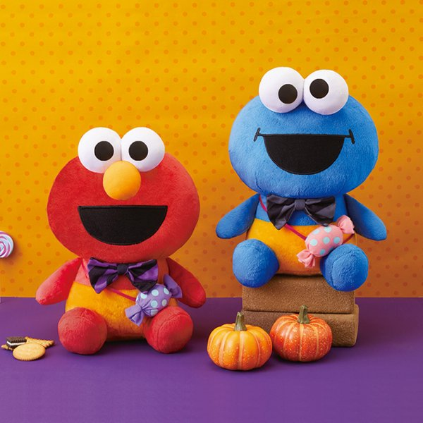 Elmo and Cookie monster Candy style