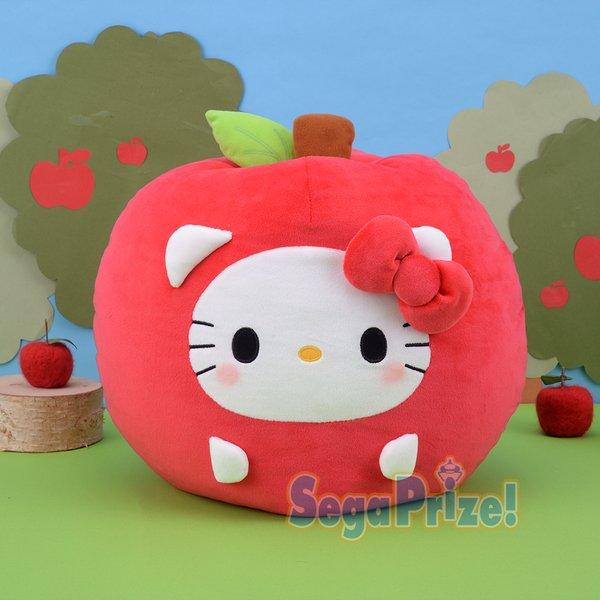 Hello Kitty apple soft toy