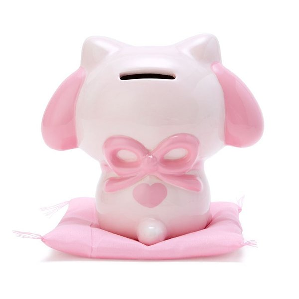 My melody fortune cat style coin bank