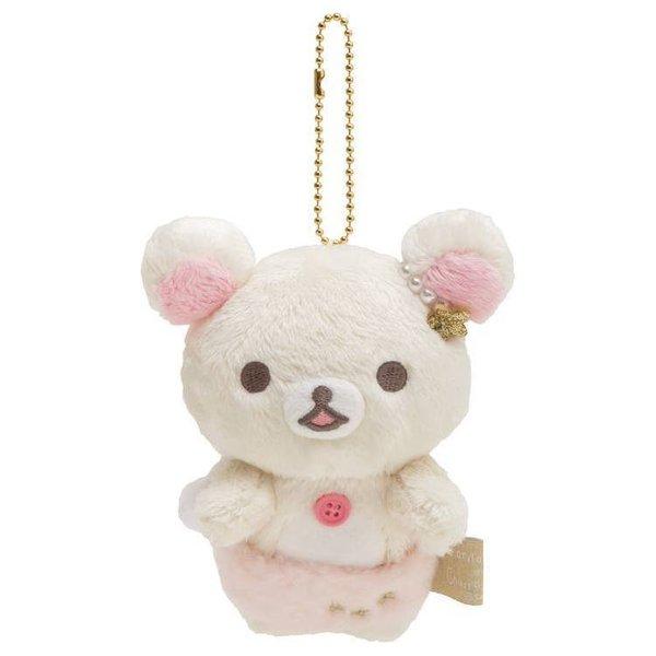 Korikkuma twinkle star series furry keychain