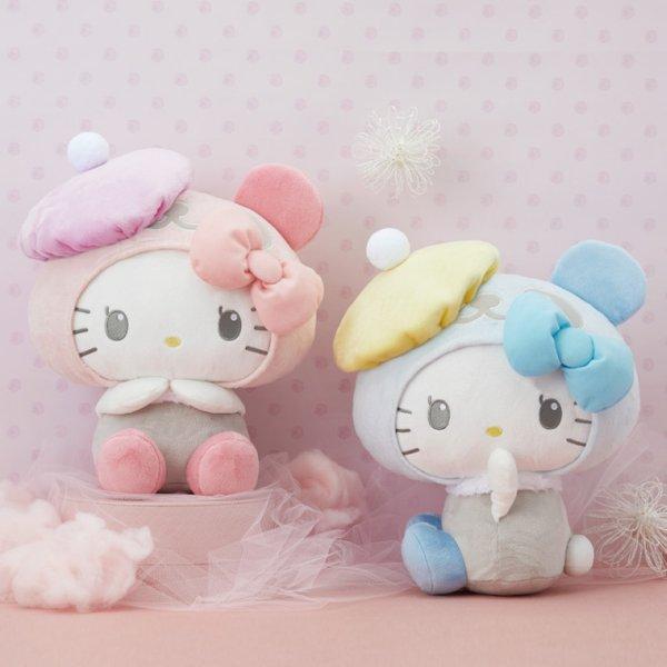 Hello kitty panda series beret hat soft toy