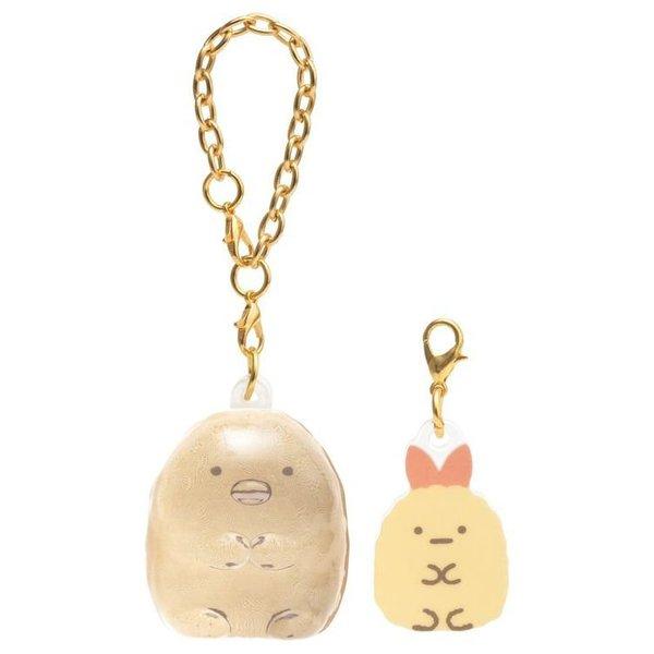 Sumikko Gurashi Chain and charm set (tonkatsu)