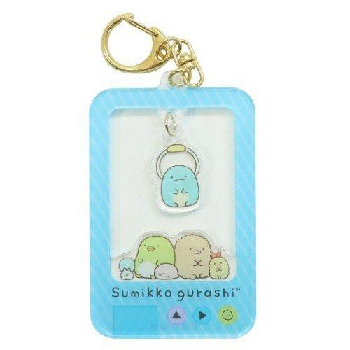 Sumikko Gurashi Acrylic keychain (blue)