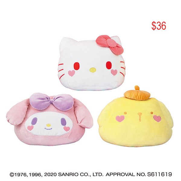 Sanrio soft mochi cushion