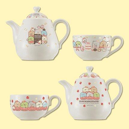 Sumikko Gurashi Tea pot set