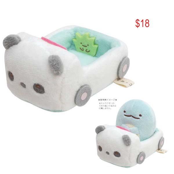 Sumikko Gurashi Panda car