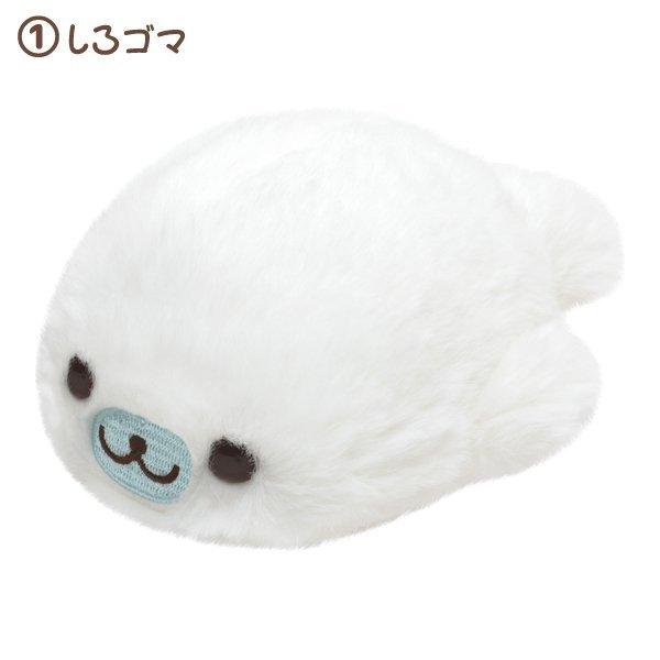 Mamegoma furry soft toy (S)