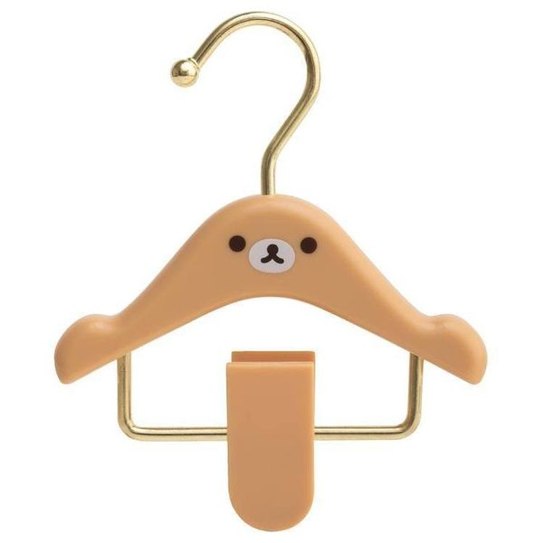 Rilakkuma hanger clip