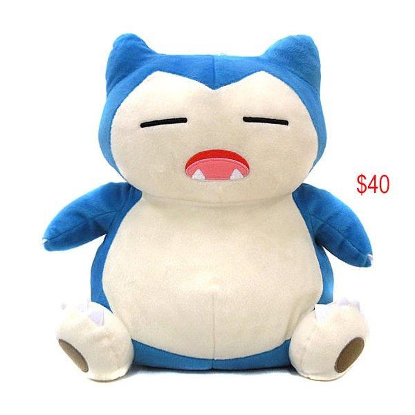 Pokemon Snorlax soft toy