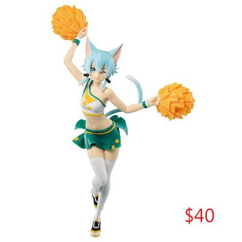 Sword Art Online Figurines Cheerleader (Promotion)
