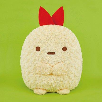 Sumikko Gurashi EBI rose fur soft toy