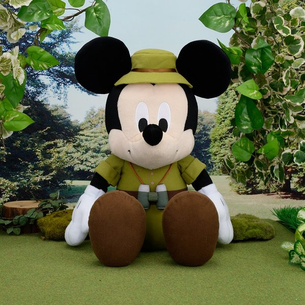 Mickey Mouse camping soft toy