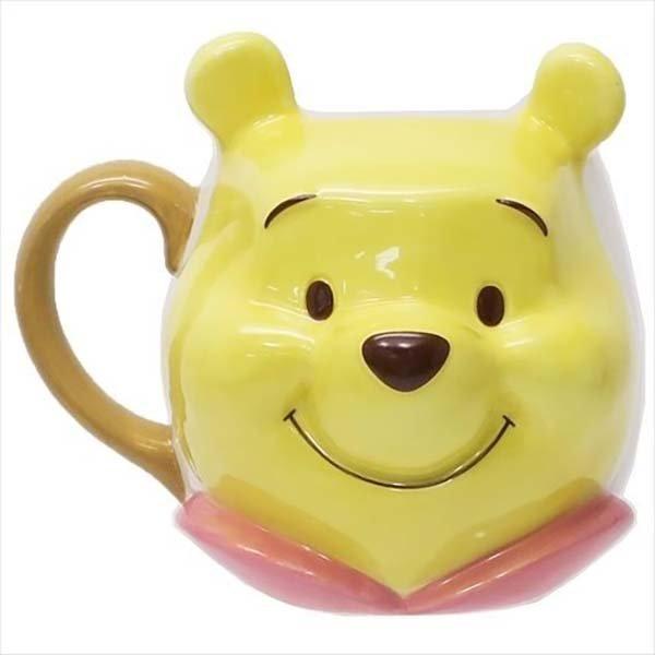 Winnie the Pooh head mug