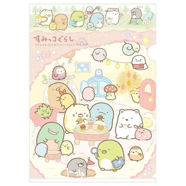 Sumikko Gurashi SIngle Folder (Pink family)